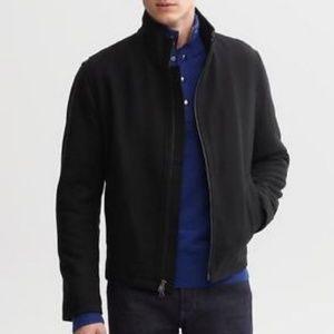 BANANA REPUBLIC Black Italian Wool Cashmere Jacket